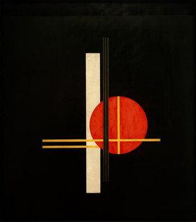 László Moholy-Nagy: Komposition Q XX