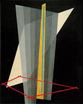 László Moholy-Nagy: Komposition K XVII