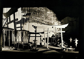 "László Moholy-Nagy: Set design for ""Madame Butterfly"""