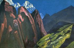 Nikolai Konstantinow Roerich: Der Schatten des Meisters (Tibet)