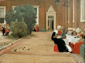 Max Liebermann: Amsterdamer Waisenmädchen