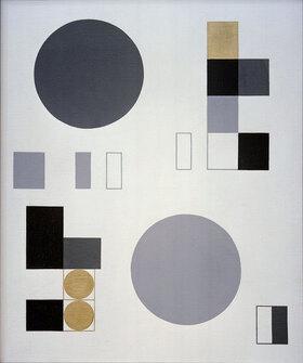 Sophie Taeuber-Arp: Komposition mit Kreisen und Rechtecken