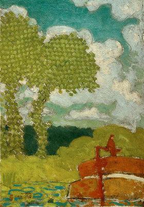 Pierre Bonnard: Der Schleppkahn