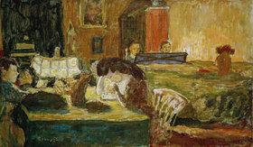 Pierre Bonnard: Der Abend im Salon