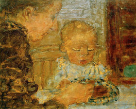 Pierre Bonnard: Mutter und Kind
