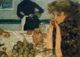 Pierre Bonnard: Misia Natanson beim Frühstück