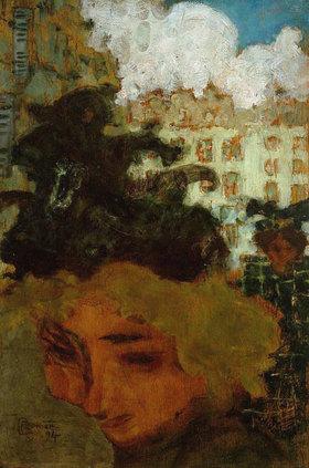 Pierre Bonnard: Die Passantin