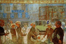 Pierre Bonnard: Paris, Place Clichy