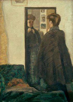 Pierre Bonnard: Frau vor dem Spiegel