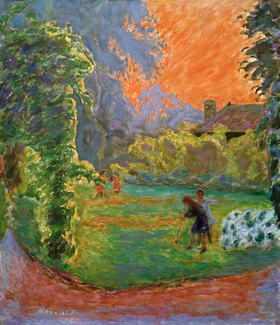 Pierre Bonnard: Untergehende Sonne