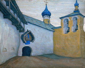 Nikolai Konstantinow Roerich: Das Pskowo-Petschory-Kloster