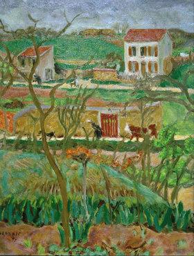 Pierre Bonnard: Landschaft bei Regenwetter
