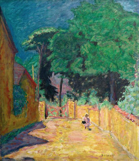 Pierre Bonnard: Gasse in Vernonnet