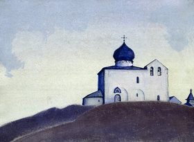 Nikolai Konstantinow Roerich: Kirche des Hl. Sergius in Amerika
