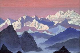 Nikolai Konstantinow Roerich: Der Kangchenjunga