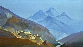 Nikolai Konstantinow Roerich: Lahaul, Himalaya