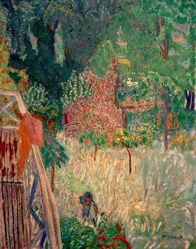 Pierre Bonnard: Der Balkon in Vernonnet, Der blühende Apfelbaum