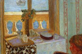 Pierre Bonnard: Interieur mit Balkon, Antibes
