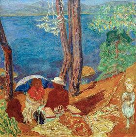 Pierre Bonnard: Meeresufer, unter Pinien