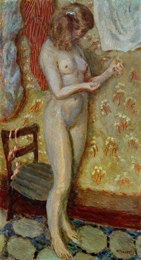 Pierre Bonnard: Akt im Licht oder Akt mit Naehnadel