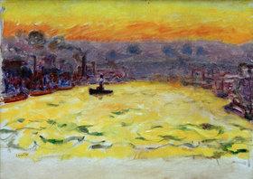 Pierre Bonnard: Hafen, Sonnenuntergang