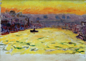 Pierre Bonnard: Le Port, soleil couchant