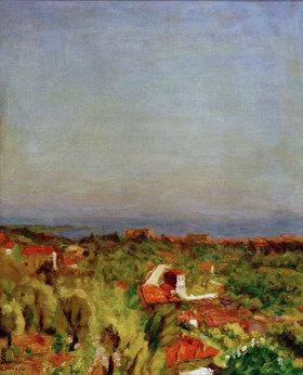 Pierre Bonnard: Mittelmeerlandschaf, Le Cannet
