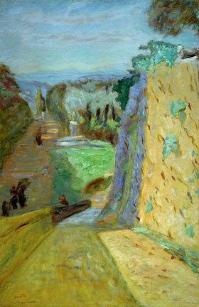 Pierre Bonnard: Die Allee von Le Cannet