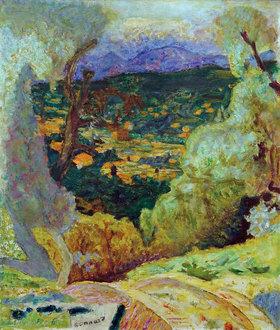 Pierre Bonnard: Südliche Landschaft: Le Cannet