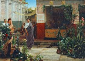 Laura Alma-Tadema: Blumenmarkt