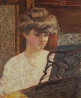 Pierre Bonnard: Misia Godebska am Klavier