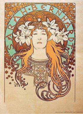 Alfons Mucha: Sarah Bernhardt