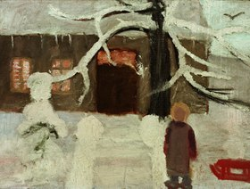 Paula Modersohn-Becker: Junge im Schnee