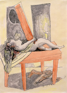 Max Beckmann: Der Mord