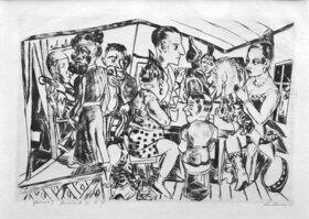 Max Beckmann: Hinter den Kulissen