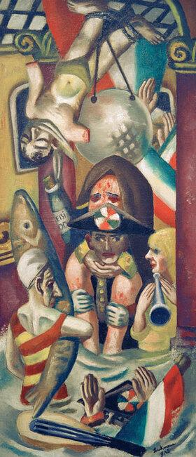 Max Beckmann: Galleria Umberto