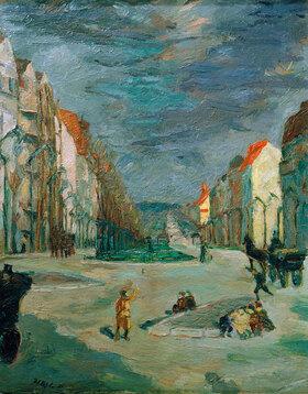 Max Beckmann: Kaiserdamm in Berlin