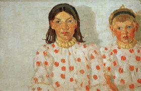 Max Beckmann: Zwei Mädchen aus Jütland