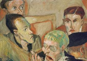 Max Beckmann: Die Angeklagten