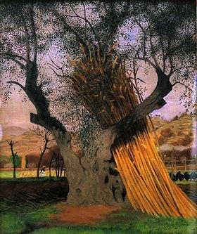 Felix Vallotton: Der alte Olivenba