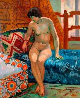 Henri Manguin: Nude on an Ottoman