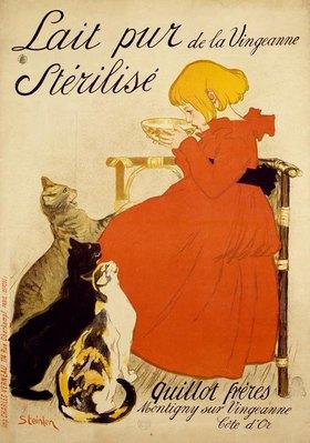 Théophile-Alexandre Steinlen: Lait pur de la Vingeanne