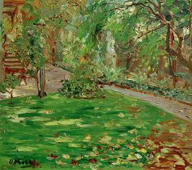 Oskar Moll: Jardin du Luxembourg I