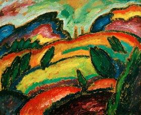 Alexej von Jawlensky: Hügel