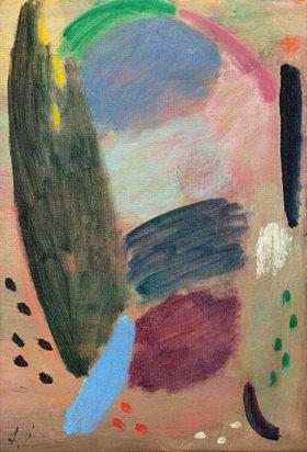 Alexej von Jawlensky: Variation: Träumender Sonntagmorgen