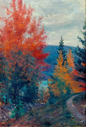 Prinz von Schweden Eugen: Herbstfarben, Valdres