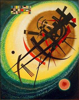 Wassily Kandinsky: Im hellen Oval