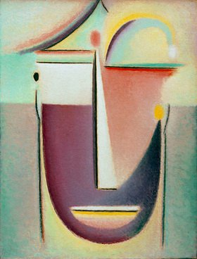 Alexej von Jawlensky: Abstract Head: first form, 1918, N
