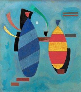 Wassily Kandinsky: Beide gestreift