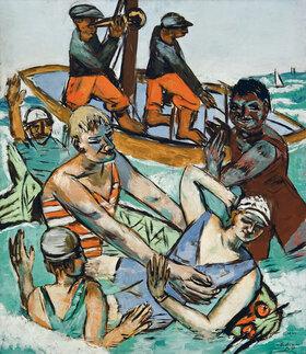 Max Beckmann: Bad im August